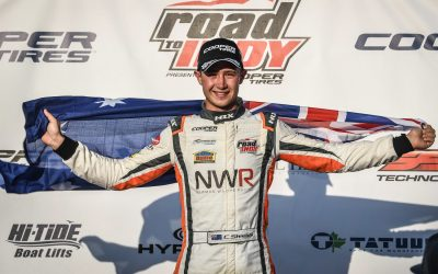 CAMERON SHIELDS SCORES FIRST USF2000 WIN IN DOMINANT FASHION